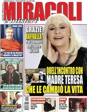 OMAGGIO DI MAXIMO DE MARCO A RAFFAELLA CARRA'